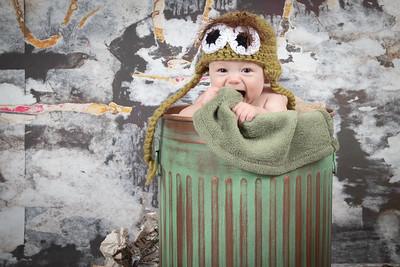 Baby David 4 Months