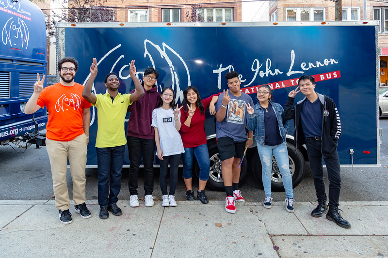 2019_09_20, Bus, Grover Cleveland High School, NY, Ridgewood, Gabe Smith, Exterior