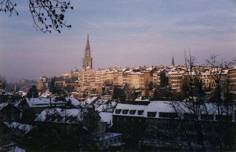 Bern, the capital of Switzerland