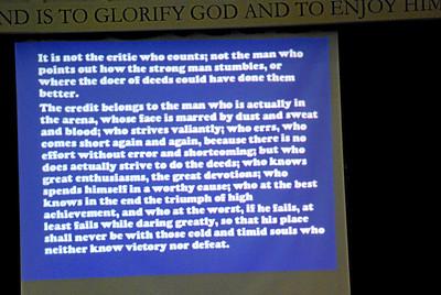 Chapel Talks 2010-11