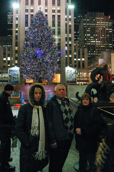 Slavic family in Manhattan - January 4, 2008