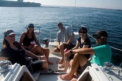 Sailing with Kiwi's