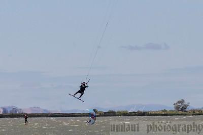Kite Surfing, Sherman Island, CA