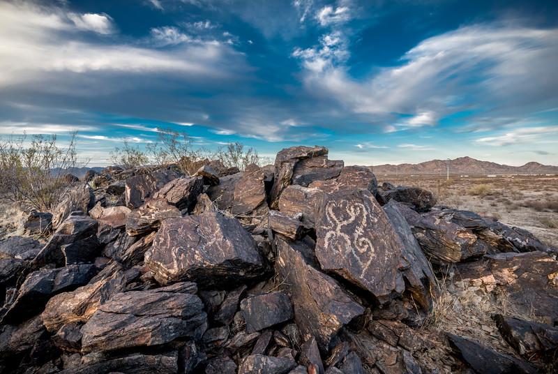 I-11 Petroglyphs #1