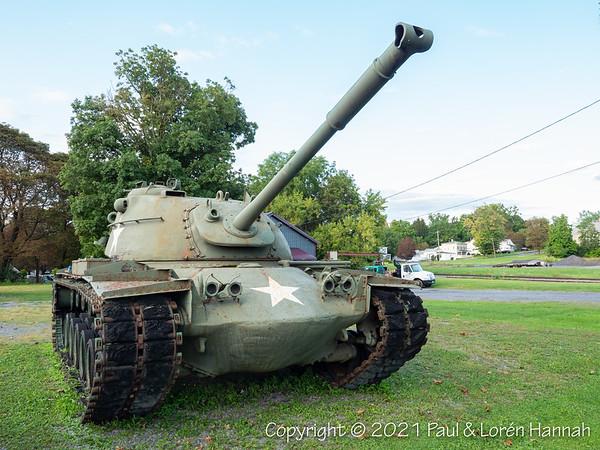 American Legion Post 1324 - Auburn, NY - M48