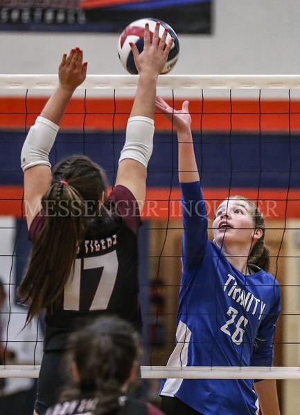 Trinity Breck volleyball - 10-27-20 - Messenger-Inquirer