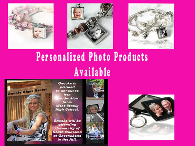 Personalized Products Available