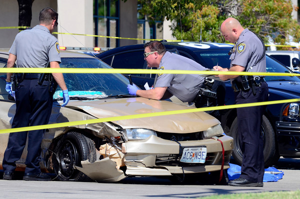 Police Pursuit ends in Wreck