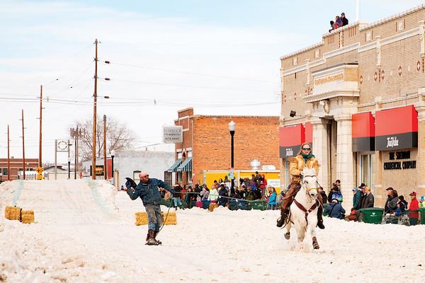 The Inaugural Sheridan WYO Winter Rodeo
