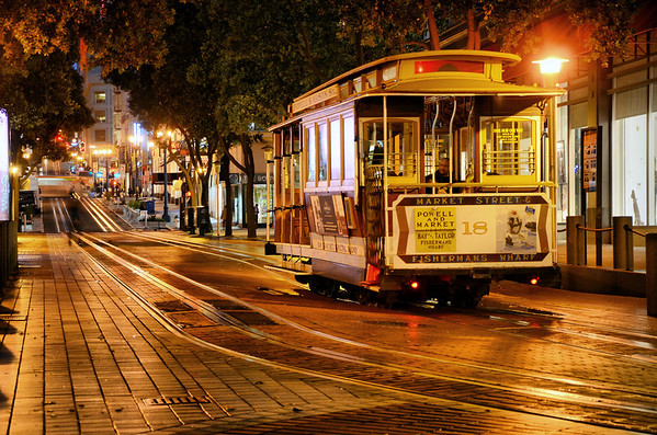 San Francisco Cable Cars and Historic Streetcars