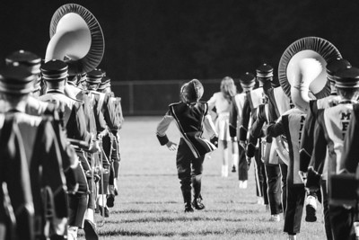 MASH Marching Band Football Band Night Oct 4