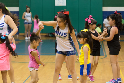 Montwood High School Cheer Camp