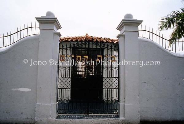 PANAMA, Panama City. Cemetery Amador de El Chorillo. (2008)