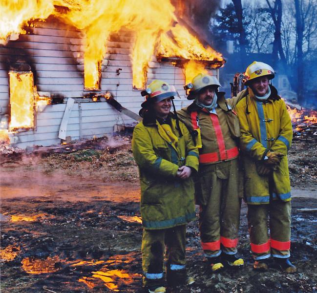 "The 3 Amigos L-R Steve Kavanagh - Phil""Weebles""Melanson - Brad Stevens"