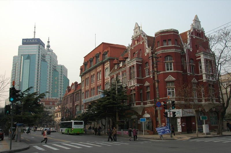 Downtown Qingdao - Qingdao, China