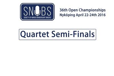2016-0422 SNOBS Quartet Semi-finals