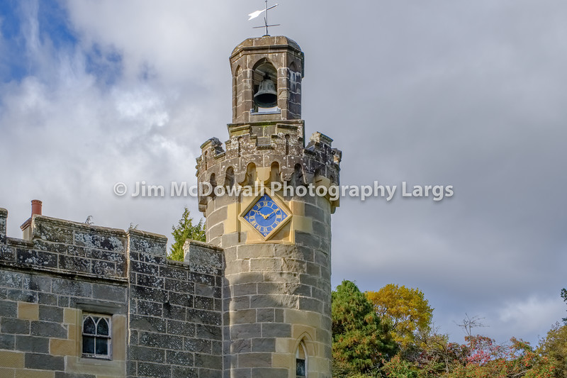 Balloch Castle & Clock Tower Scotland.