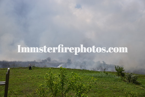 PLAINVIEW FD & FRIENDS BRUSH FIRE 7-21-2020