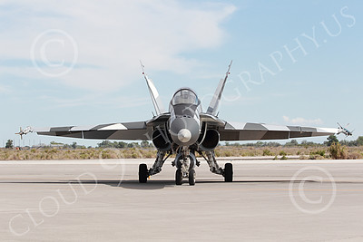 US Navy Boeing [McDonnell Douglas] F-18A Hornet Military Airplane Pictures