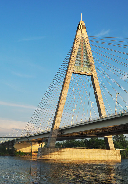 Megyeri Bridge, Budapest, Hungary - 2008