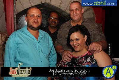 Jus Jazzin - 12th December 2009