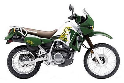 2002 Kawasaki KLR 650