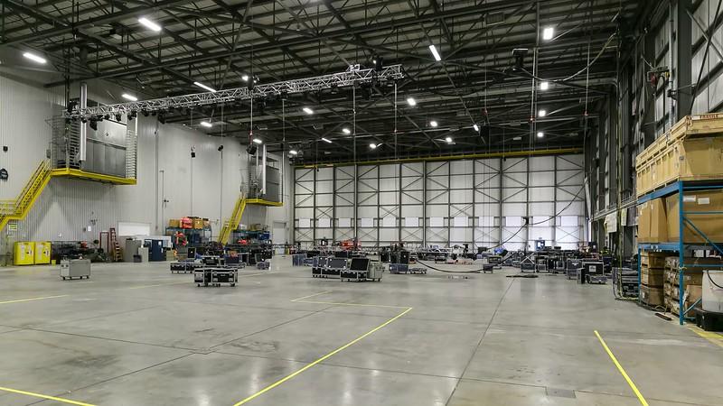 Westjet 787 Launch - AV Setup