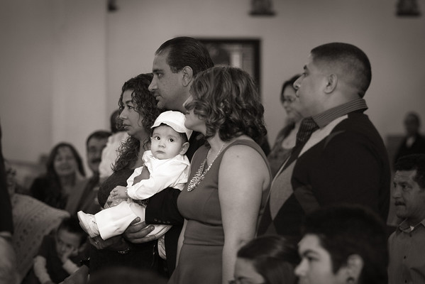 Andres Bustamante Baptism