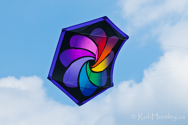 Rok Kite with prism design - Rob Huntley Photography