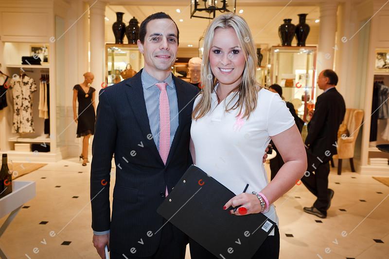 2010 Ralph Lauren Pink Pony - Chadstone - Felicity Whelan with the Ralph Lauren Chadstone store manager