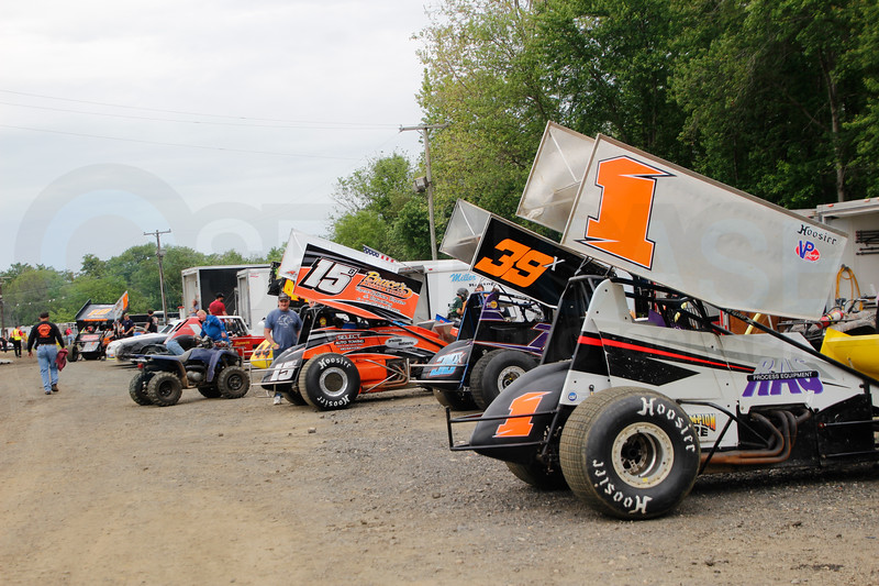 5-11-19 3/8 at Bridgeport Speedway