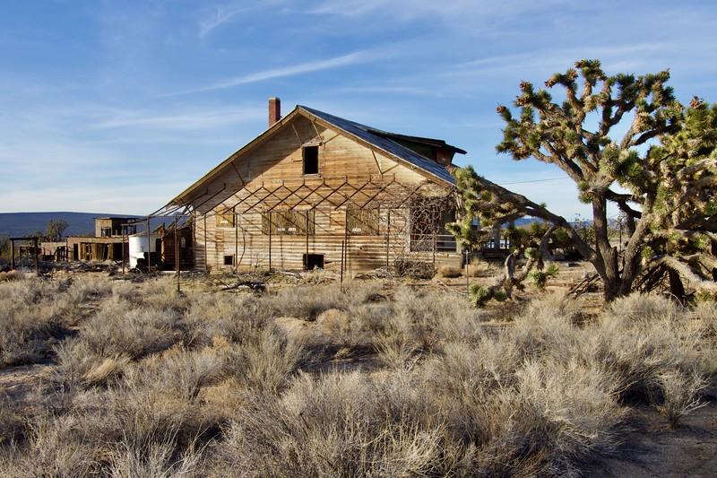 Main house, Death Valley Mine