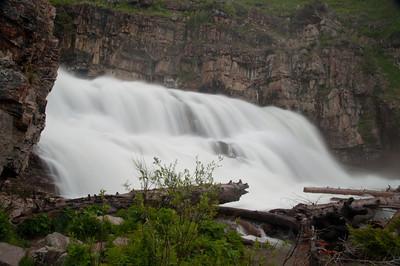 Montana Wyoming & Dakotas Waterfalls