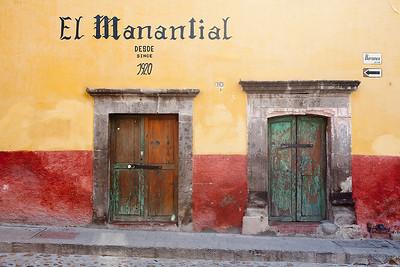 Doors of San Miguel 2007 & 2011