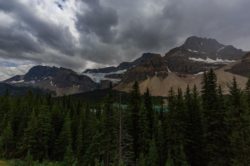 Crowfoot Glacier and Mountain