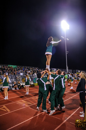 161104 GHS and LHS Cheer Rivals Footbal