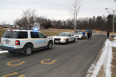 Rush Township Police Seat Belt Check, Marian High School, Hometown (2-14-2012)