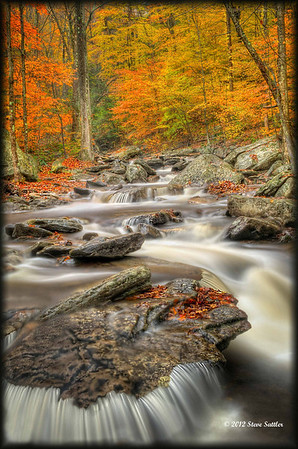 Waterfalls and Fall Foliage