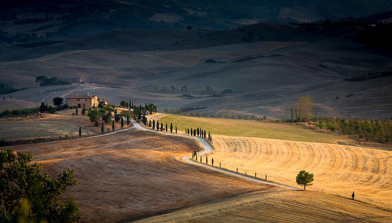 Tuscan farm