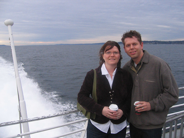 Hart/Cox Wedding - Honeymoon All - Victoria, BC (April 2006)
