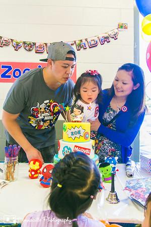 Zoe's 3rd Birthday