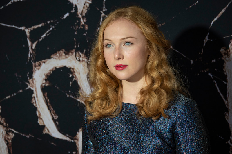 """LOS ANGELES, CALIFORNIA - OCTOBER 29: Molly C. Quinn attends the premiere of Warner Bros Pictures' """"Doctor Sleep"""" at Westwood Regency Theater on Tuesday October 29, 2019 in Los Angeles, California. (Photo by Tom Sorensen/Moovieboy Pictures,)"""