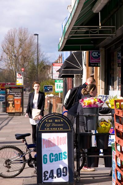 Shop on Uxbridge Road, Ealing Common, W5, London, United Kingdom