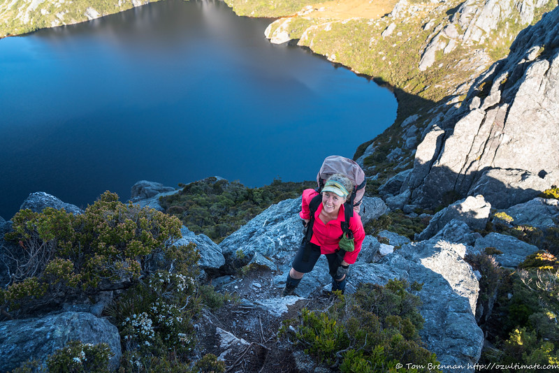 High on the ridge to Pegasus