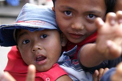 Bali faces