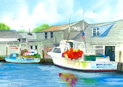 Bay paintings