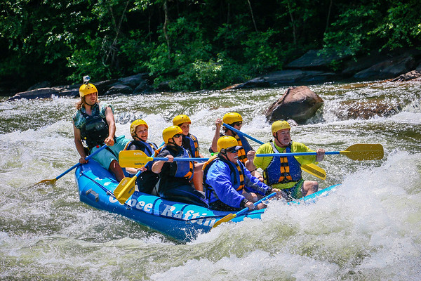 2017-06-08 and 06-10 Rafting