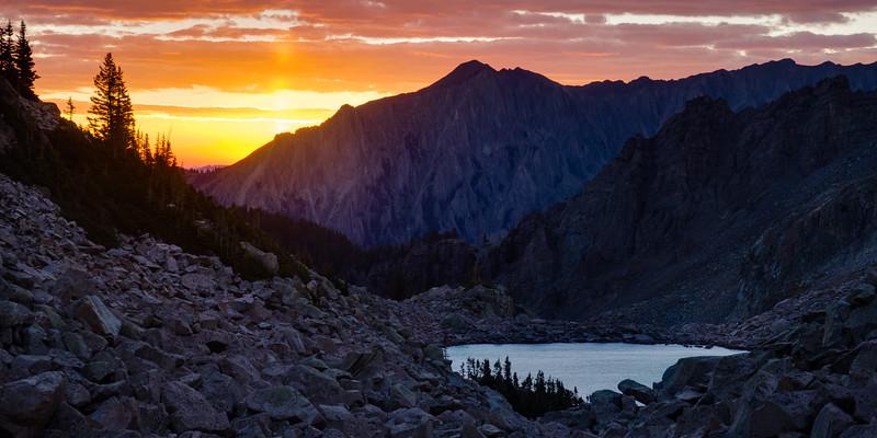 Moon Lake Sunrise