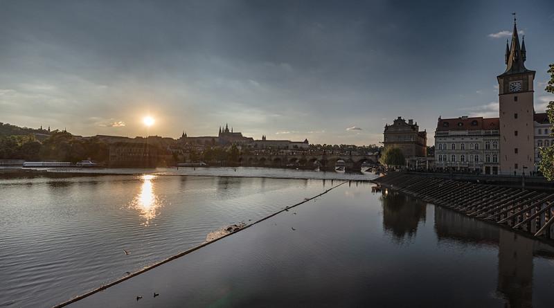 Sunset - Prague, Czech Republic - May 17, 2019