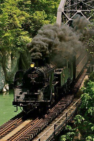 Reality of steam trains